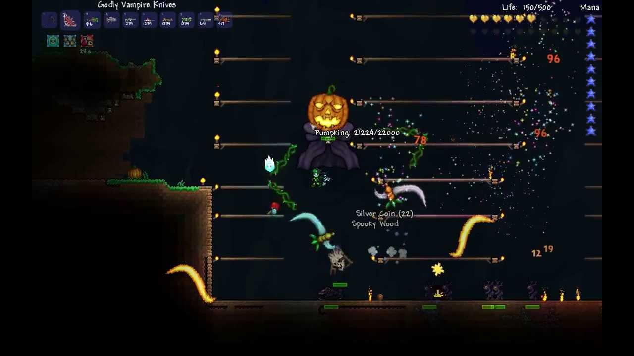 pumpkin moon event terraria wiki