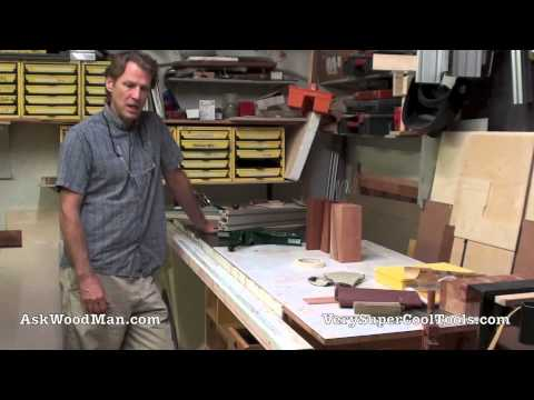 DIY Table Saw Guide Rails - Introducing Ask The Steel Guy