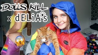 Dolls Kill x Delias TRY-ON HAUL (◕ᴗ◕✿)