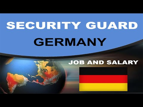 Security Guard Salary in Germany – Jobs and Wages in Germany
