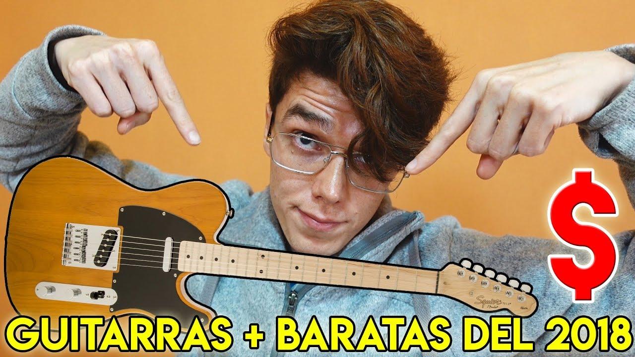 Las 10 mejores guitarras el ctricas baratas del 2018 youtube for Guitarras electricas baratas