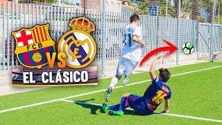 BARCELONA VS REAL MADRID ¡EL CLÁSICO! PARTIDO FÚTBOL