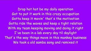 Black Eyed Peas - Mas Que Nada(Lyrics)