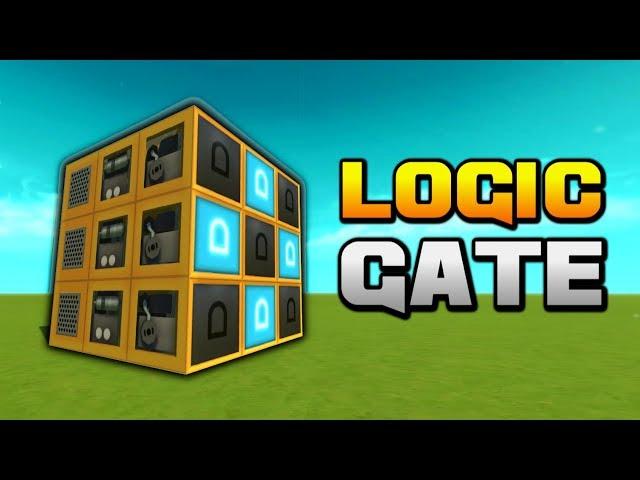 Logic Gate Útmutató Kezdőknek | Scrap Mechanic