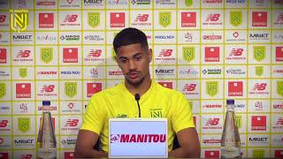 VIDEO: Ludovic Blas avant FC Nantes - AS Saint-Etienne