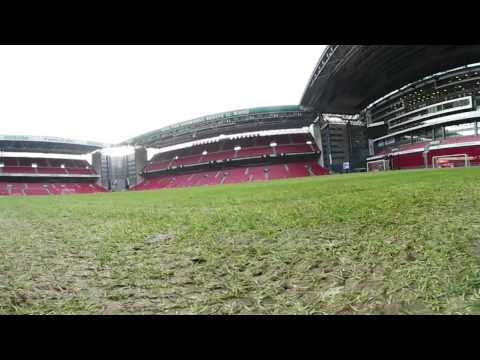 360 video inside Telia Parken - the stadium of FC Copenhagen