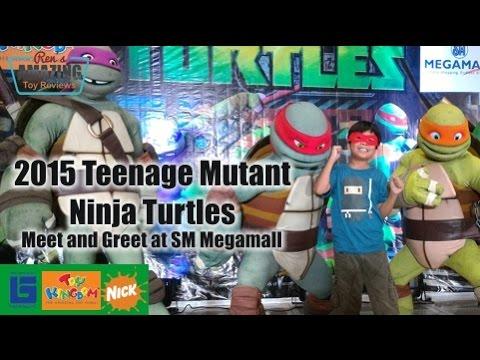 ninja turtles meet and greet 2015