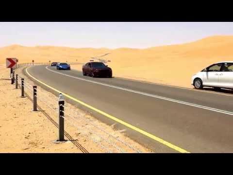 """""""Furious 7"""" Liwa Desert, Abu Dhabi drive by"""