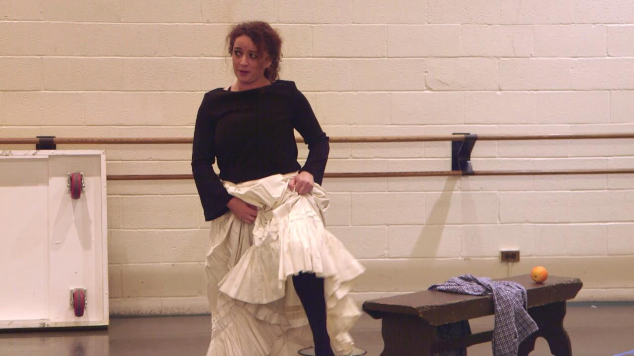 Carmen: Clémentine Margaine in Rehearsal