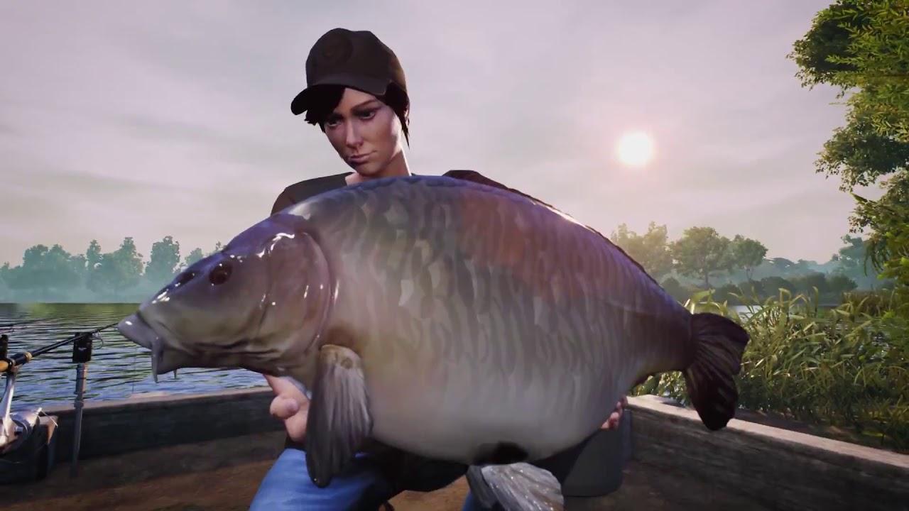 Dovetail games euro fishing manor farm lake dlc trailer for Ps4 fishing games 2017