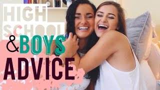 DEALING WITH HIGH SCHOOL BOYS | Advice Q&A