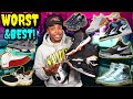 TOP 35 BEST & WORST MOST ANTICIPATED/UPCOMING   SNEAKERS OF 2019!