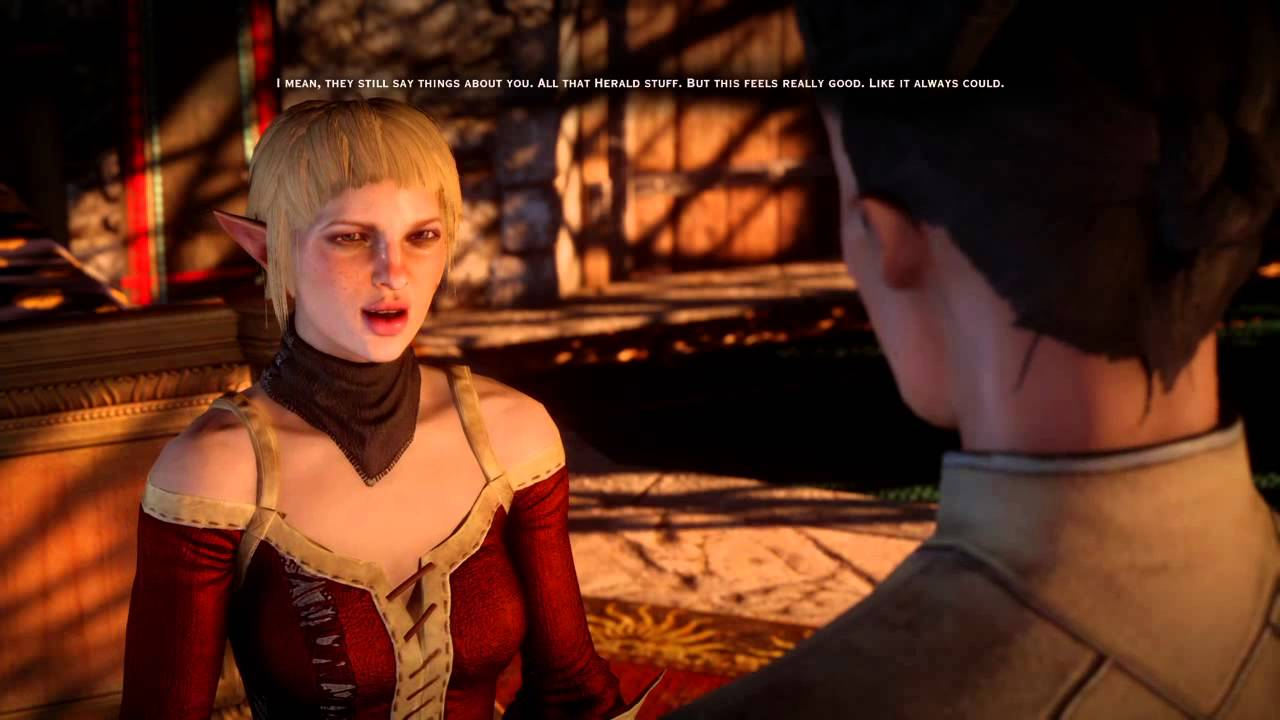 dragon age inquisition sera romance