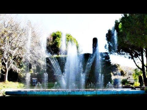 Parc Phoenix Nice - fontaine musicale