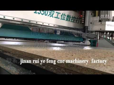 cnc router with italy drilling unit, cnc wood cutting machine, hiteco 9KW spindle, double worktable