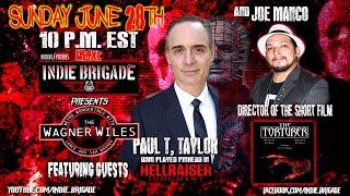 Romero Picture's Heavy Metal Indie Brigade Presents: Wagner Wiles w/ Paul T. Taylor &  Joe Manco