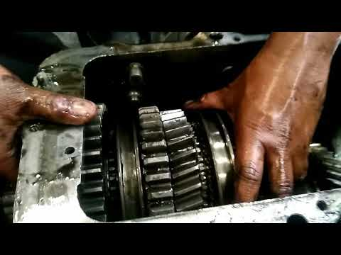 tata truck gearbox assembly