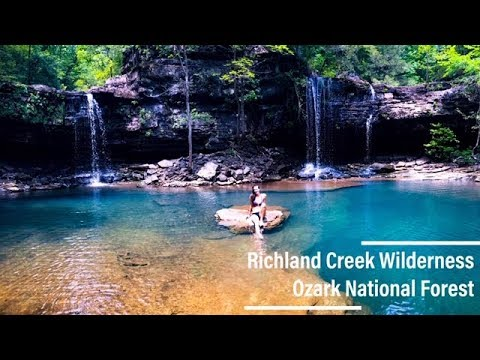 Ozark National Forest | Richland Creek Wilderness Camping | Hiking to Twin Falls