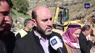 مبادرة شبابية لاستكمال أعمال صيانة في وادي الغفر (27/1/2020)