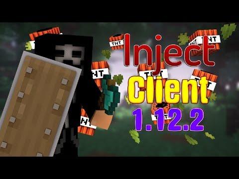 INJECT CLIENT MINECRAFT!!! ИНЖЕКТ ЧИТ НА МАЙНКРАФТ 1.12.2!!!