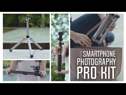 Smallest and Lightest Tripod in the World - Phonegrapher Review + Giveaway