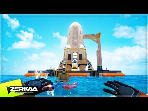 COMPLETING THE ESCAPE ROCKET! (Subnautica #19)