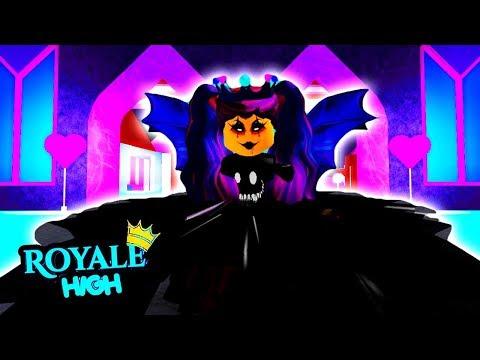 DARK FAIRY MALTY HAS A SECRET DAUGHTER?!   Royale HighSchool   Royal High School   Roblox Roleplay