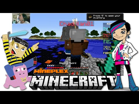 Minecraft - Online Game Play with Gamer Chad Alan on the Mineplex Bridges