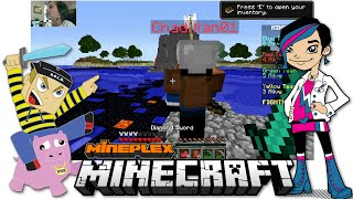 Minecraft - Online Game Play with Gamer Chad Alan on the Mineplex Bridges