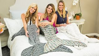 How To - Orly Shani's DIY Mermaid Blankets - Hallmark Channel