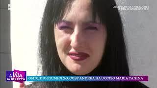 Omicidio Fiumicino, così Andrea ha ucciso Maria Tanina - La vita in diretta 16/10/2018