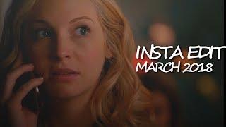 instagram edits [march 2018] read d-box please!!!