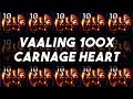 Path of Exile - Vaaling 100 Carnage Heart Amulets