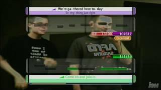 Disney Sing It Xbox 360 Gameplay - One World, Two Dorks
