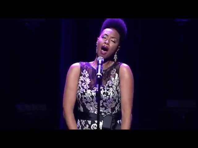Carolyn Malachi Performance at Divas Simply Singing