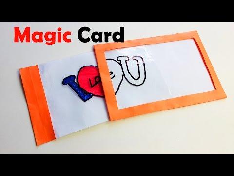 How to Make Magic card - DIY Magic card - Paper Magic - DIY Crafts