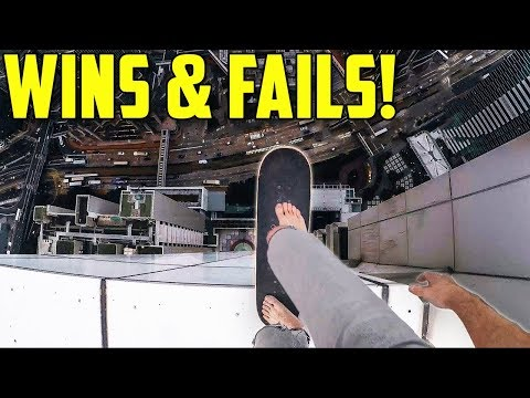 Ultimate Skateboarding Wins and Fails 2018!