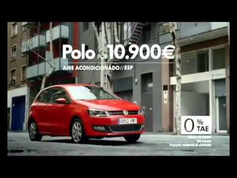 Anuncio (commercial) Volkswagen Polo Fagot (Bassoon).wmv