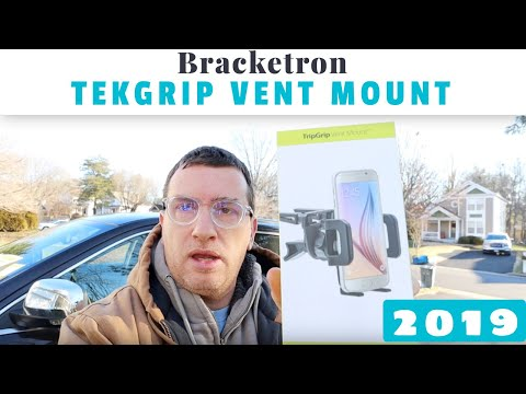 Review Of Bracketron TekGrip Universal Smartphone Car Air Vent Mount Phone Holder