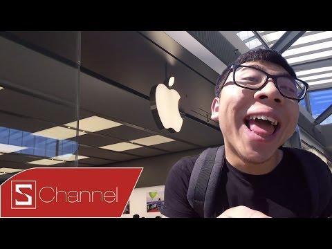 Schannel - Cùng Tân Một Cú ghé thăm Apple Store tại Úc: Hay thế này bảo sao lúc nào cũng đông!