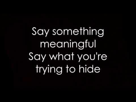 Seether - Let You Down Lyrics