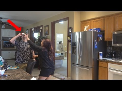 MILK IN GLUE BOTTLE PRANK!! (SHE SLAPPED ME) | FaZe Rug