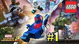 LEGO Marvel Super Heroes 2 PС прохождение часть 1 ГЕРОИ ВЕРНУЛИСЬ