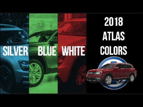 The all-new 2018 Volkswagen ATLAS ( Color Options Exterior & Interior ) Your Favorite Color?