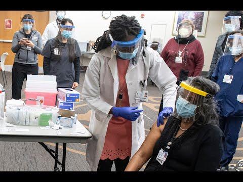COVID-19 Vaccinations Begin Across Johns Hopkins Medicine