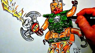 How to Draw Ninjago ++Nadakhan++ LEGO