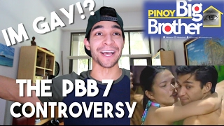 The PBB 7 Controversy! Reaction to Backstabbing Gay Statements of Aura