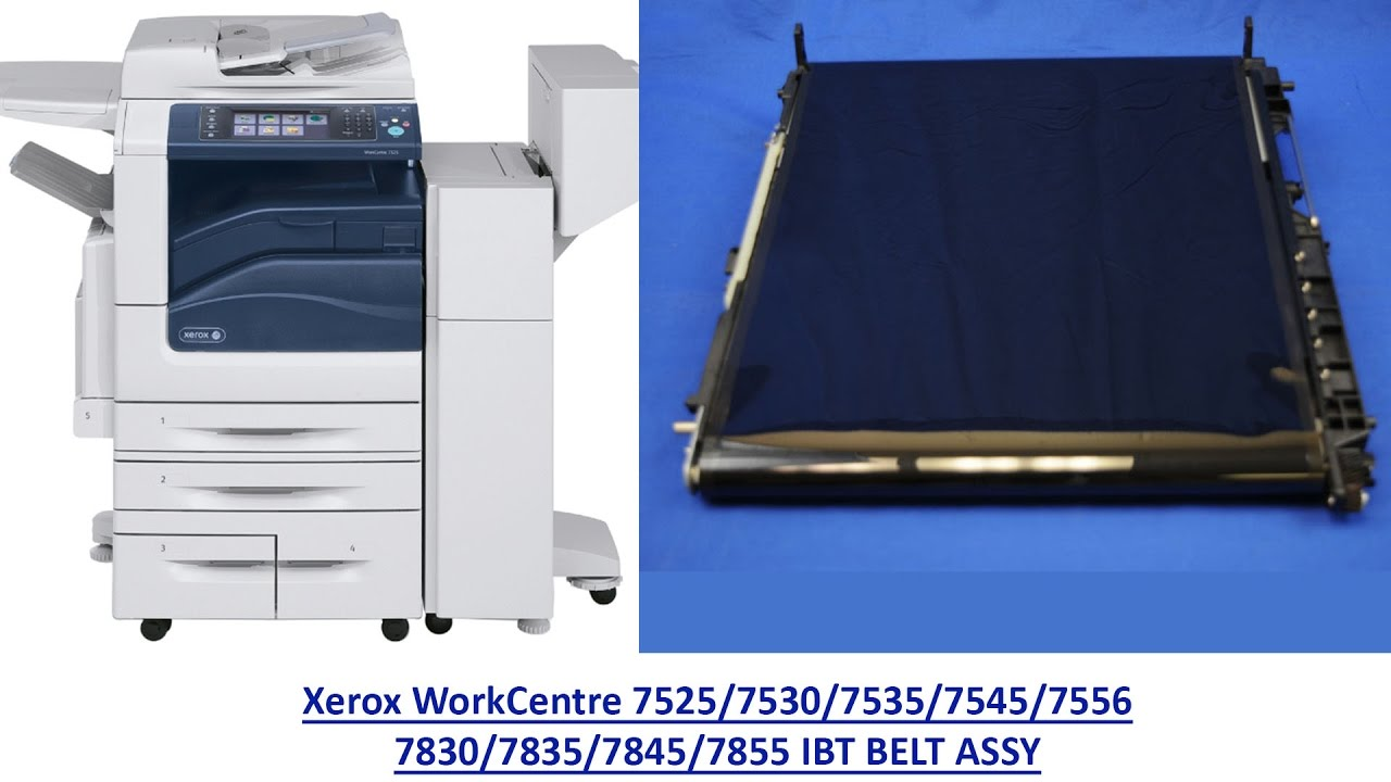 How to replace the Xerox WorkCentre 7525/7530/7535/7545/7556 IBT