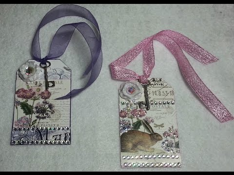 DIY~Recycle Your Old Calendar Into Simple, Beautiful Gift Tags!