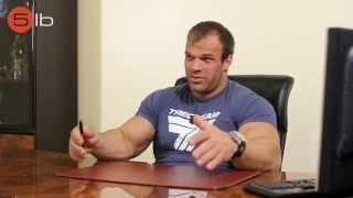 Денис Цыпленков о спортивном питании и тренировках